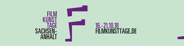 Logo Filmkunsttage Sachsen-Anhalt 2018
